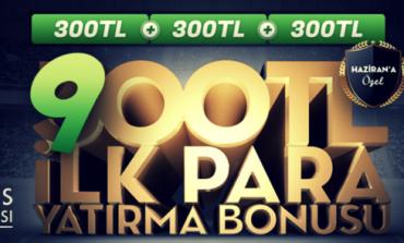Bets10 ilk üyelik bonusu 900 TL oldu