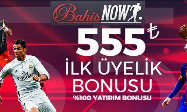 Bahisnow İlk Üyelik Bonusu