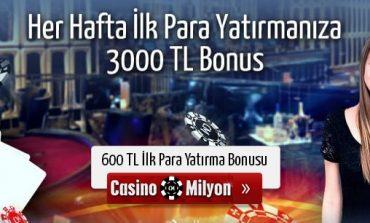 Casinomilyon Haftalık Yatırım Bonusu