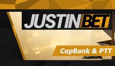 Justinbet Cepbank ve PTT Yatırım Bonusu