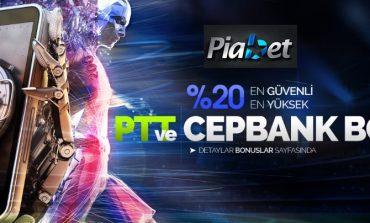 Piabet Cepbank Yatırım Bonusu