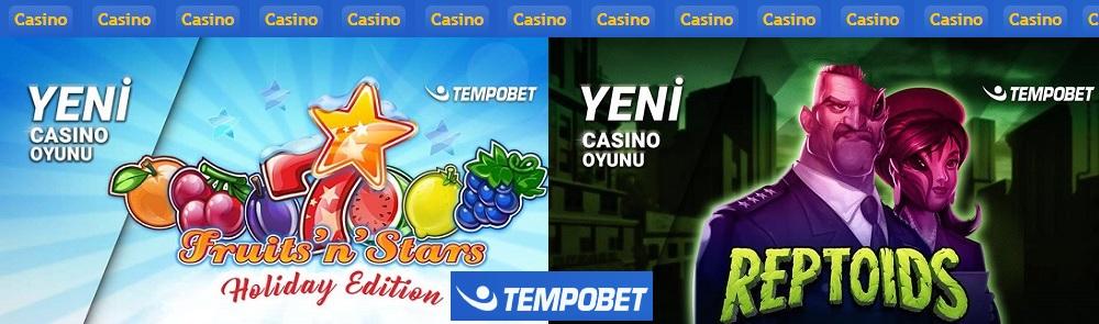 tempobet yeni casino oyunları