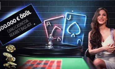 Bets10 Canlı Casino Turnuvası 500.000 Euro Ödüllü!