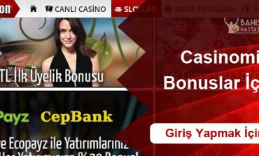 Casinomilyon Bonuslar
