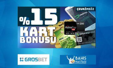 Grosbet Kart Bonusu
