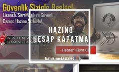 Hazino Hesap Kapatma