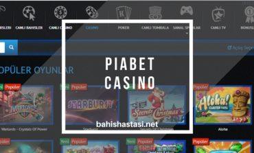 Piabet Casino Oyunları