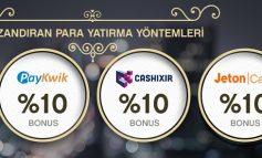 Casinometropol Ön Ödemeli Kart Yatırım Bonusu