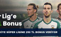 Bets10 Türkiye Süper Ligine 250 TL Bonus Veriyor